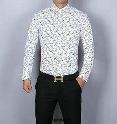 2017 popular chemise coton givenchy homme chemise en jean longue givenchy slim fit CHGC6052