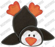 S~ 3D PENGUIN ~ Scrapbook Embellishment TM426