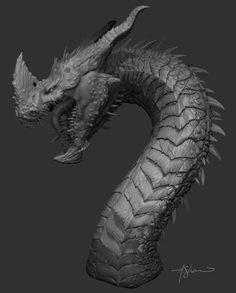 Dragon Sculpt, Adam Shaw on ArtStation at http://www.artstation.com/artwork/dragon-sculpt-1f375d22-6475-4eed-8785-7ce49f6067d5