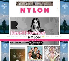 Website that renders fashion, beauty and music information, events, and shopping. Ecommerce Solutions, Fashion Sites, Jared Leto, Film, Music, Fashion Beauty, Events, Shopping, Website