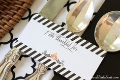 Thanksgiving Table Inspiration - By A Blissful Nest