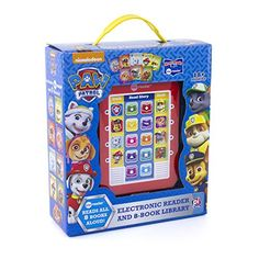 Nickelodeon - Paw Patrol Me Reader Electronic Reader and Library - PI Kids Hardcover – Sound Book, October Kids Reading, Free Reading, Paw Patrol, Amazon Top, Amazon Deals, Book Press, Reading Adventure, Christmas Toys, Book Reader