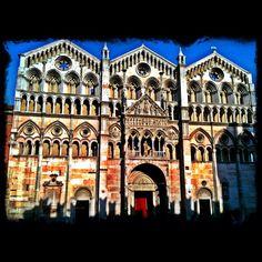 Cattedrale di San Giorgio, Ferrara - Instagram by @Suzanne Courtney @TheTravelBunny