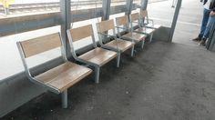 Exkluderande bänk på Uppsala centralstation. Uppsala, Dining Chairs, Furniture, Design, Home Decor, Decoration Home, Room Decor, Dining Chair, Home Furniture