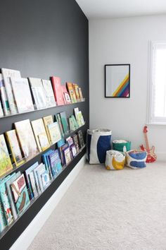 The top 15 storage ideas for kids rooms & playrooms - Kids playroom - Kids Playroom İdeas Playroom Design, Playroom Decor, Kids Room Design, Room Kids, Modern Playroom, Wall Decor Kids Room, Modern Bedroom, Playroom Organization, Children Playroom