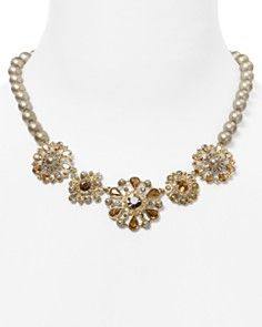 """Carolee Twilight Glimmer Mixed Cast Necklace, 16.5""""_0"""