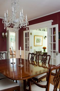 Mead Farm - farmhouse - Dining Room - South East - Fiorentino Group Architects