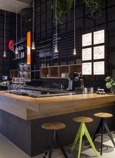 Dutch coffee chain Coffeecompany is getting a makeover. The first venue to revolutionize its interiors is the one in the district of Oosterdok in Amsterdam.