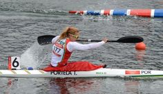 Teresa Portela está na final dos K1 200 metros de canoagem