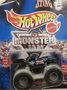 Amazon.com: Hot Wheels Monster Jam Sting: Toys & Games