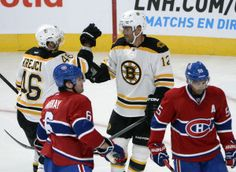 WILL STRANGE SCHEDULING HURT THE HABS AGAINST THE BRUINS?