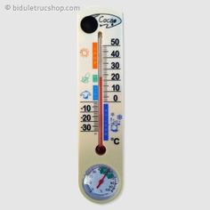 Vous êtes inquièt(e) car vos voisins ont été cambriolé et leur système de surveillance détourné car trop visible ? Discrèt et insoupsonnable, ce thermomètre ne se contentera pas de vous donner le temps et la température !