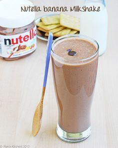 Nutellabananamilkshake by Raks anand, via Flickr