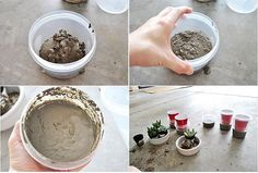 34 Cool and Modern DIY Concrete Projects - gonna try this http://www.randallchambers.com