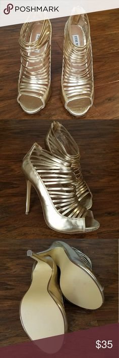 Steve Madden Strapped Pumps NWOT!  heel height: 5in. Steve Madden Shoes