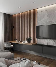 Home Inspiration // Loft Interior Home Room Design, Home Interior Design, Luxury Interior, Interior Ideas, Interior Sketch, Interior Designing, Living Room Interior, Home Living Room, Kitchen Living