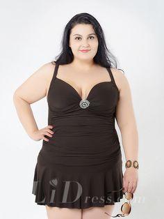 9b995985e7e New Skirt Big Women Summer Dress One piece Swim Suit Lady Bathing Suit  Large Size Big Swimwear Plus Size Swimsuit XXL - On Trends Avenue