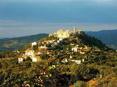 Montegiovi al tramonto Monte Amiata #TuscanyAgriturismoGiratola