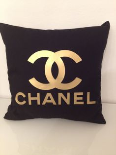 Chanel pillows. This is a first for me! I just thought that Chanel only had purses, wallets, and jewelry!