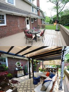 Deck decorated by Sabrina Soto