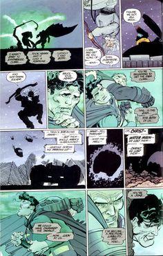 I am Batman. I Am Batman, Batman Vs Superman, Frank Miller Art, Dark Knight Returns, Batman The Dark Knight, Panel Art, Comic Page, A Comics, Comic Covers