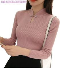 Cheap sweater short, Buy Quality turtleneck sweater directly from China fashion sweater Suppliers: OHCLOTHING Hot 2017 Winter New Fashion Thickened half turtleneck sweater short female thread tight all-match solid new shirt Petite Fashion Tips, Fashion Tips For Women, China Fashion, New Fashion, French Fashion, Style Fashion, Clothing Hacks, Sweater And Shorts, Sweater Fashion