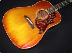 1965 Gibson Humming. Great example of one of the most iconic vintage Gibson acoustic guitars