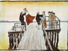 Devil Pot Hugo Gerhard Simberg was a Finnish symbolist painter and graphic artist. The two characters Simberg used mos. Gerhard, Danse Macabre, Post Impressionism, Art Archive, Vintage Artwork, Fantastic Art, Dark Art, Modernism, Painting Inspiration