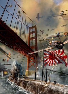 Rising Sun by Kurt Millar.   An alternate history of WWII Pacific.