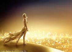 Charlize Theron dazzles in new J'adore Dior campaign | Daily Mail ...