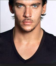 Jonathan Rhys Meyers.  Gorgeous