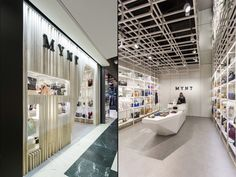 Dear Design studio based in Barcelona, Spain has completed the design of Mynt flagship store, a fashion and accessorize brand.
