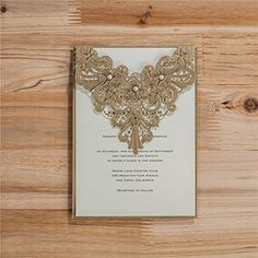 Wishmade 1x ivory vertical laser cut wedding invitations cards kits wishmade 50x lace laser cut wedding invitations cards kit with pearl card stock for engagement birthday stopboris Image collections