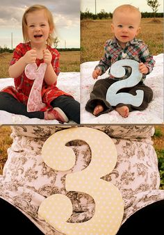 Cute pregnancy announcement.