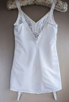Authentic vintage instant slimming white nylon and elastane firm control open bottom corselette foundation garment . Girdles, Corsets, 1980s, Foundation, Camisole Top, Tank Tops, Photos, Etsy, Vintage