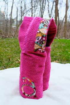 DIY - hooded bath towel