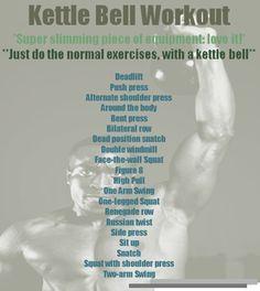 Kettle Bell Workout
