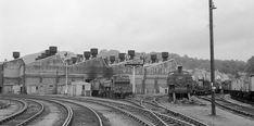Tondu Steam Depot South Wales 1960 by John Wiltshire British Rail, British Isles, Queensland Australia, Western Australia, Steam Trains Uk, Steam Railway, Swansea, Steam Engine, Steam Locomotive