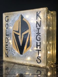 e7236c10565 VGK painting on a block. KDowney · Hockey · Golden Knights ...