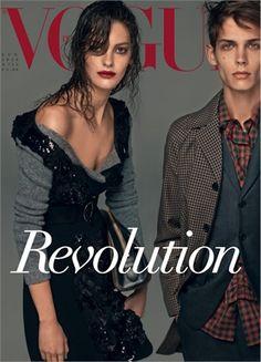 Revolution... in 25 Years of Fashion by Steven Meisel, July 2013 - Prada