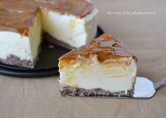 Cheesecake al caramello senza cottura,una torta fredda veloce con un delizioso caramello