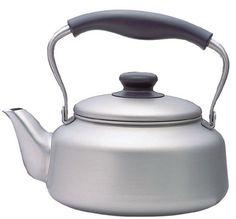 Sori Yanagi Stainless Steel Kettle - Matte - http://cookware.everythingreviews.net/597/sori-yanagi-stainless-steel-kettle-matte.html