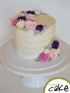 Buttercream Blooms by Inspired by Cake - Vanessa