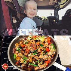 #555EATS FIREHOUSE MEAL TIME   #Repost @forkandhoseco Super special edition of #555eats with @555fitness and a brave little boy @trucker_boy_dukes !  Trucker was diagnosed with a pediatric cancer known as Neuroblastoma and is the son of a Maui firefighter. His brain tumor was removed and he continues to battle like the tough guy that he is!  Please go to the BLOG at http://ift.tt/1IkvRRe to learn more about Trucker...and to get his dad's Black Bean Pork and Eggplant Stir Fry !  Feel free to…