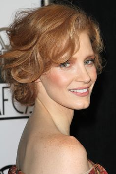 Jessica Chastain Perfect Redhead, Beautiful Redhead, Most Beautiful Women, Jessica Chastain, Red Hair Inspiration, Actress Jessica, Provocateur, Actrices Hollywood, Hair Day