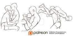 Interacting Characters reference sheet by Kibbitzer.deviantart.com on @DeviantArt