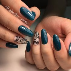 Having short nails is extremely practical. The problem is so many nail art and manicure designs that you'll find online Cute Nails, Pretty Nails, Latest Nail Art, New Year's Nails, Luxury Nails, Elegant Nails, Green Nails, Creative Nails, Almond Nails