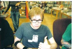 A very old picture of Patrick Stump