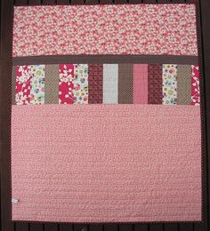 Baby Girl Quilt Back