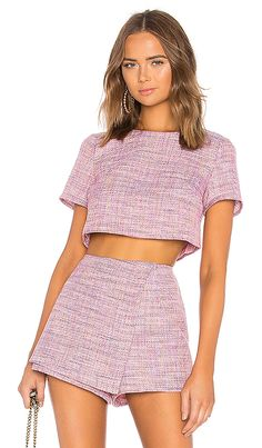 Shop for stunning Designer Tops for Women at REVOLVE CLOTHING. Find stylish Blouses, Button Downs, Tanks, Tees, Long & Short Sleeve tops & more from top brands! Rave Outfits, Girly Outfits, Cute Casual Outfits, Fashion Outfits, Fashion Trends, Trending Fashion, Short Outfits, Fashion Boots, Womens Clothing Stores
